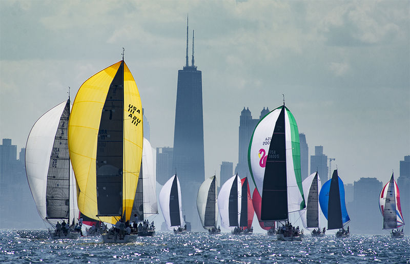 Spinnakers in the Windy City