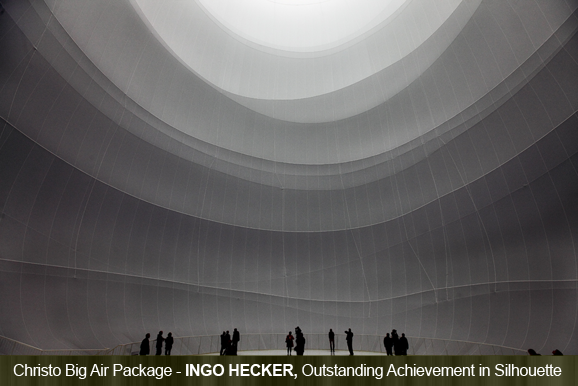 Christo Big Air Package by Ingo Hecker, Germany