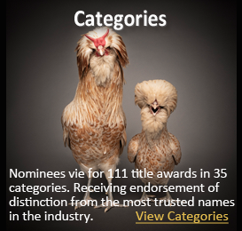 nominees vie for over 235 title awards in 35 categories