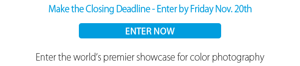 Closing Deadline November 20, 2015 - Enter at www.colorawards.com