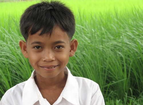 Young Man from Cambodge