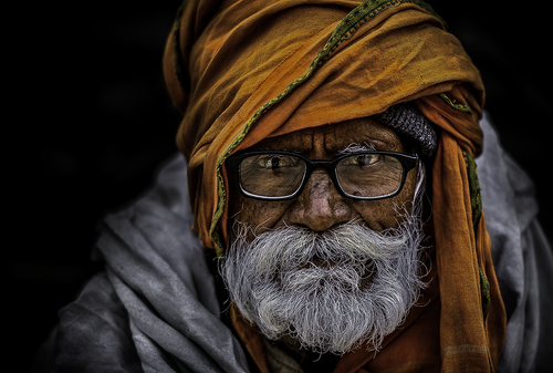 Old man of Nepal