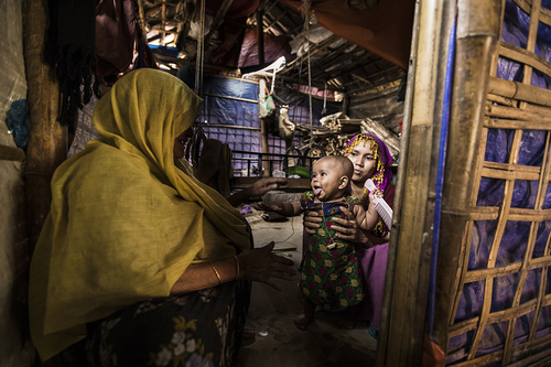 Rohingya Refugee Camp