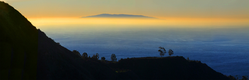 Catalina Island with Inversion