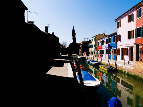Ombres et couleurs,Burano #1 2017