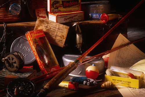 Antique Fishing Gear