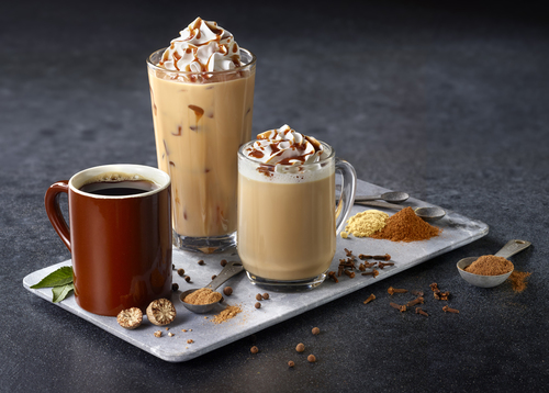 Spiced Coffee Drinks