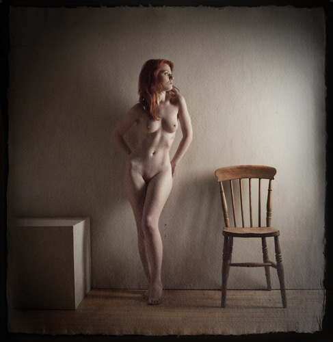 Nude and Chair