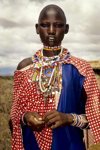 Maasai Wedding Attire
