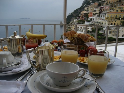 Amalfi Breakfast
