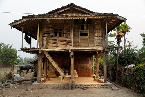 Wooden Farm house, Dudhauli, Nepal