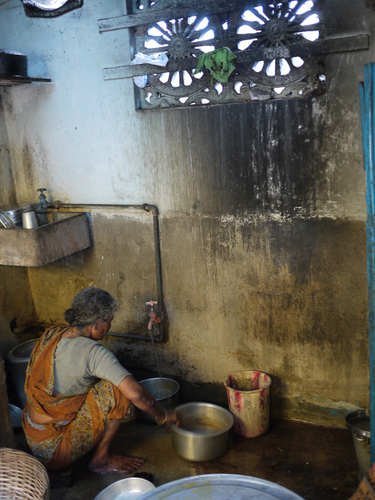 Calcutta Rescue Clinic Kitchen