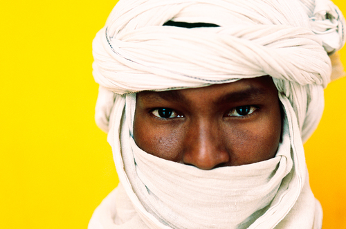 Mohamed with White Turban