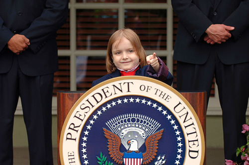 Someday, I will be President