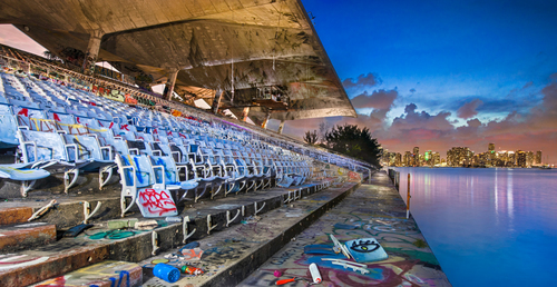 The Miami Marine Stadium