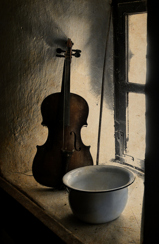 the Potty, the Violin, the Fiddlestick and the Window