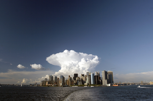 Cloud Over New York City