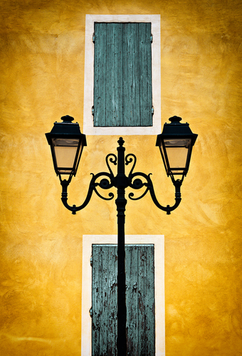 Streetlights in Provence