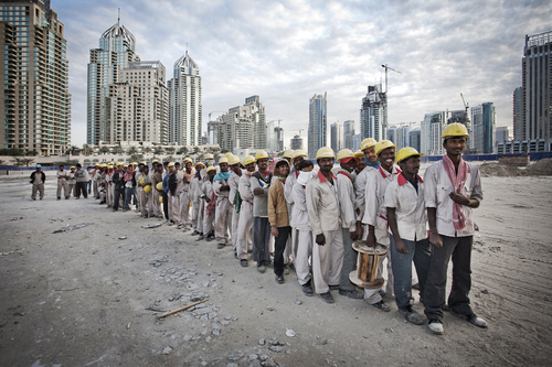 modern slaves of Dubai