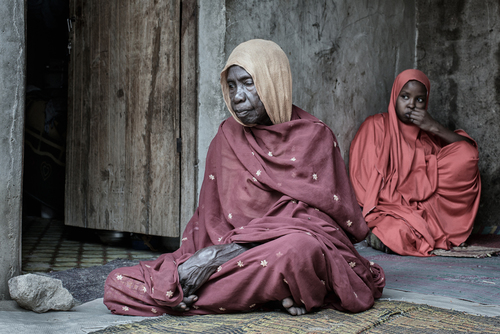 Yakellu, a witness to her son's slaughter by the Boko Haram