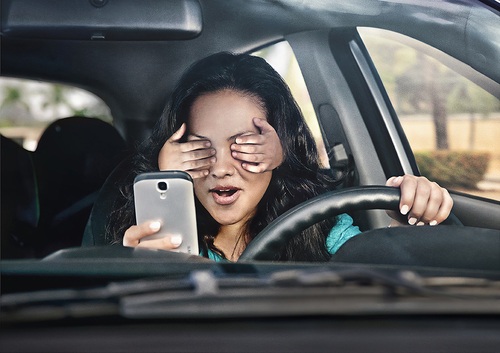 Don't text and drive Digicel