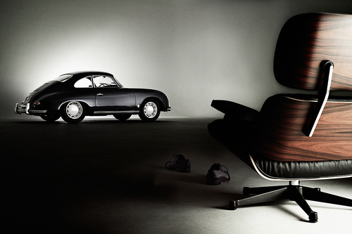 Porsche and Vitra Icons