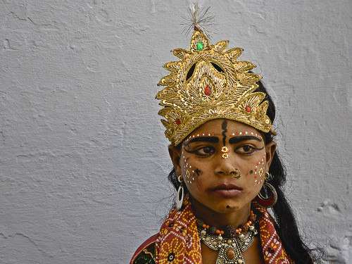 Portrayer of Lakshmi, Consort to Vishnu