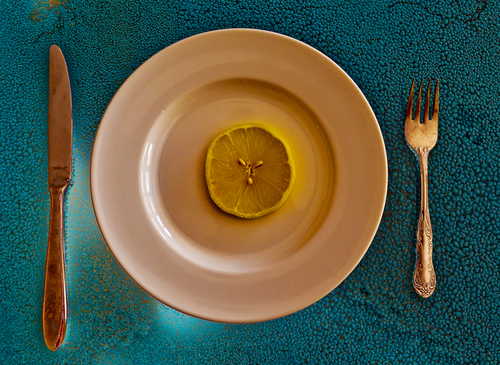 Lemon on a Plate