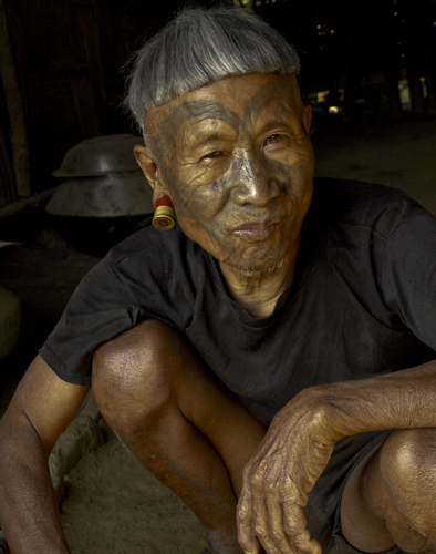 Naga tribal elder