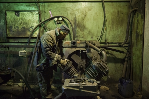 Recycling Radioactive Metals inside Chernobyl Exclusion Zone