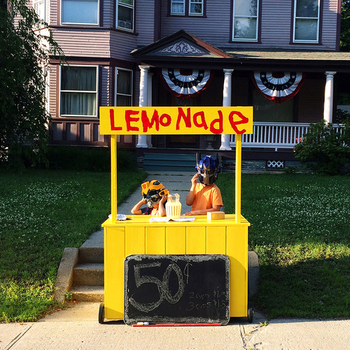 Lemonade Stand, My Summer with Optimus Prime