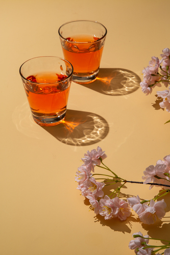 Surreal Drink in Spring