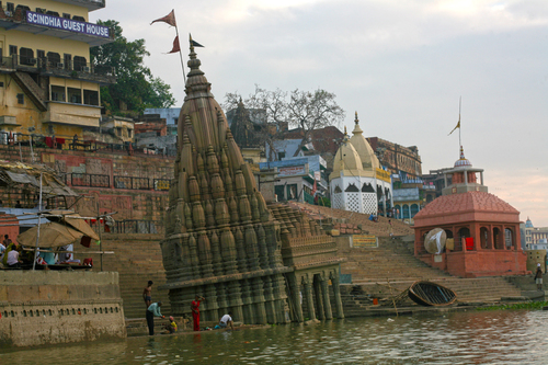 Leaning Temple of Benares