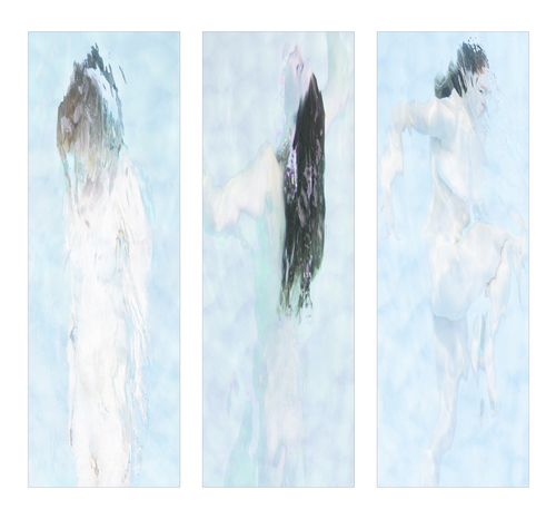 Swimmers Triptych