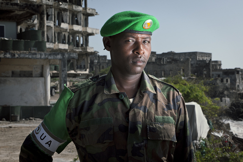Everyday Life and Death of Amisom Soldiers, Mogadishu, Somalia
