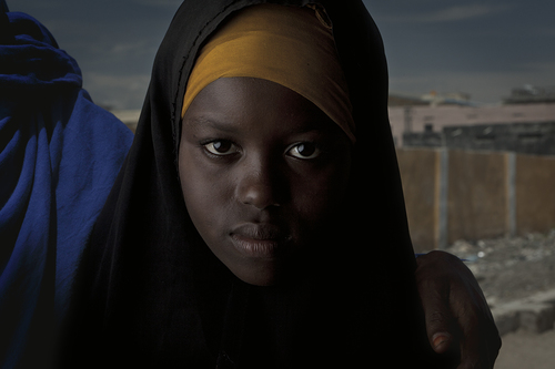 Portraits of IDP\'s at a Feeding Centre in Mogadishu, Somalia