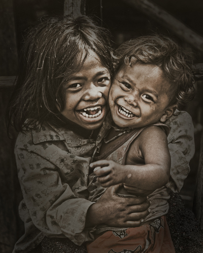 Cambodian Siblings