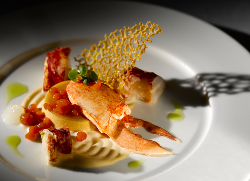 South Coast Lobster with Bloody Mary Caviar