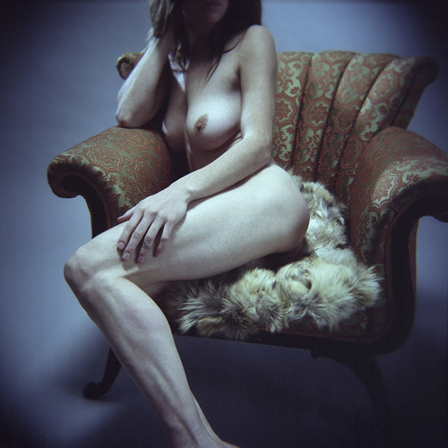 Holga on fur