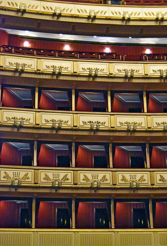 Vienna Opera House Interior
