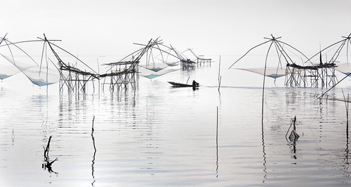 Fishing Nets Garden