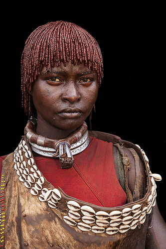 Women In Omo Valley Series, Ethiopia