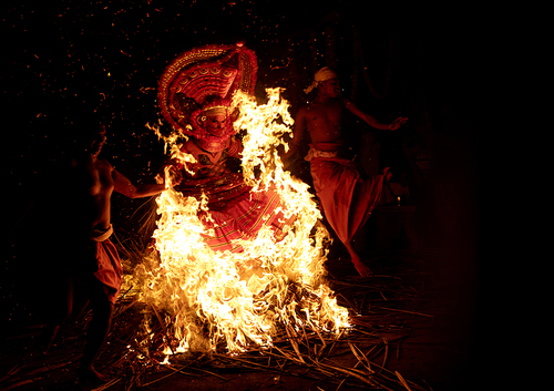 Theyyam , Kerala, India